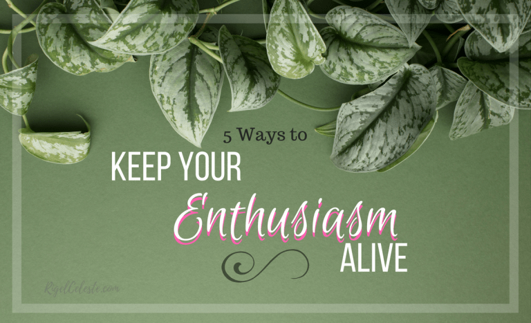 5 Ways to Keep Your Blogging Enthusiasm Alive