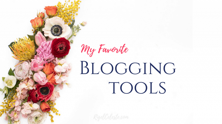 My Favorite Blogging Tools (Plugins, Photography, Planners and More)